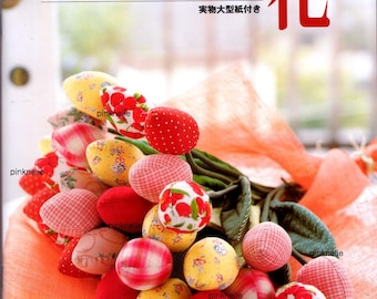 Out of Print - Fabric Flowers Fruits Vegis Japanese Craft Book