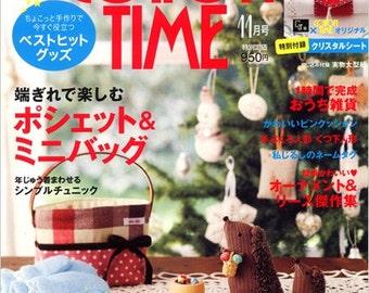 COTTON TIME - NOVEMBER 2010 Japanese Craft Magazine
