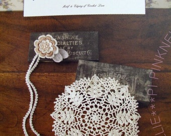CK - Motif and Edging of Crochet Lace Japanese Craft Book - - FREE Shipping Item