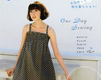 One Day Sewing Clothes n3037 Japanese Craft Book