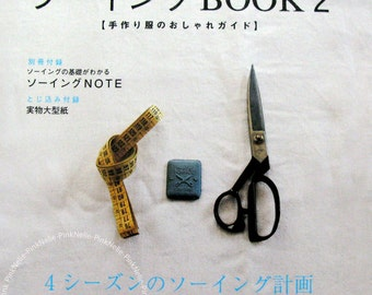 Sewing Book 2 - Cotton Friend Japanese Craft Book