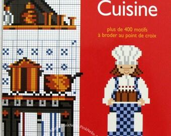 DMC - Cuisine - Cross Stitch Book