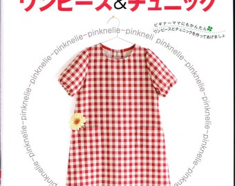 Four Seasons Girls Dress and Tunic n2840 Japanese Sewing Book