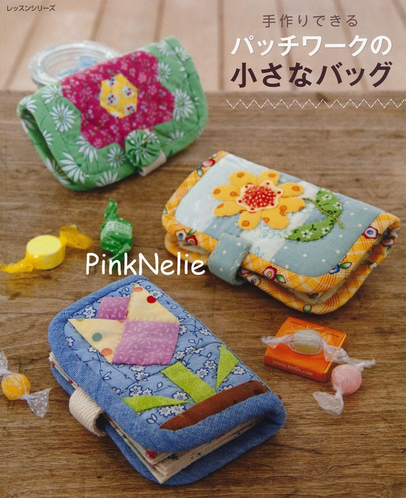 PATCHWORK SMALL BAGS Japanese Craft Book by PinkNelie on Etsy
