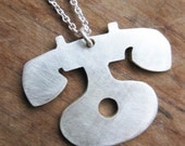 PHONE sterling silver necklace