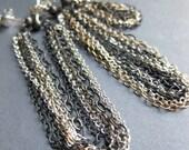 SWAG multi piercing asymmetrical earrings MADE to ORDER
