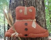 Primitive Pumpkin Door Greeter-