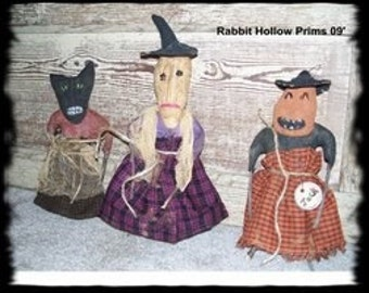 Primitive Halloween Freaky Friends