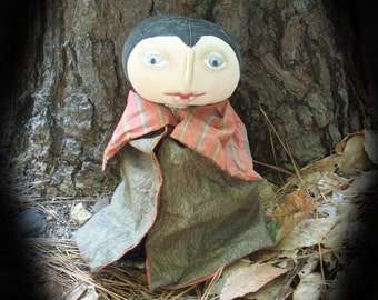 Primitive Halloween Dracula Makedo
