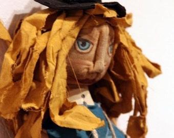 Primitive Alice in Wonderland Doll
