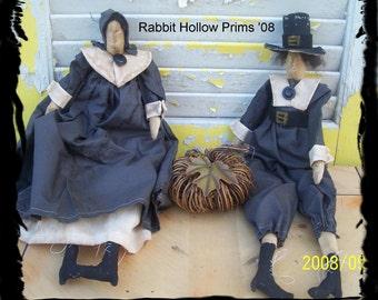 Primitive Thanksgiving Skinny Pilgrims