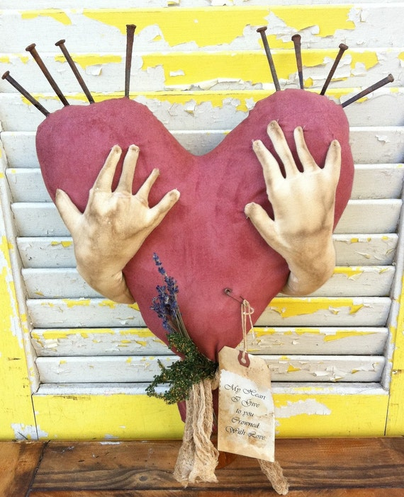Primitive  Thorns of Love Heart-Reserved with pleasure for Chesterone