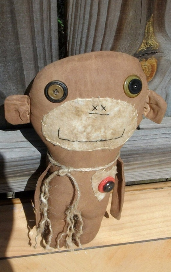 Primitive Doll, Monkey,  Choochie