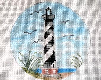 Handpainted Needlepoint Canvas Cape Hatteras
