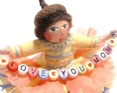 Art Doll, Mother's Day, Love You Mom