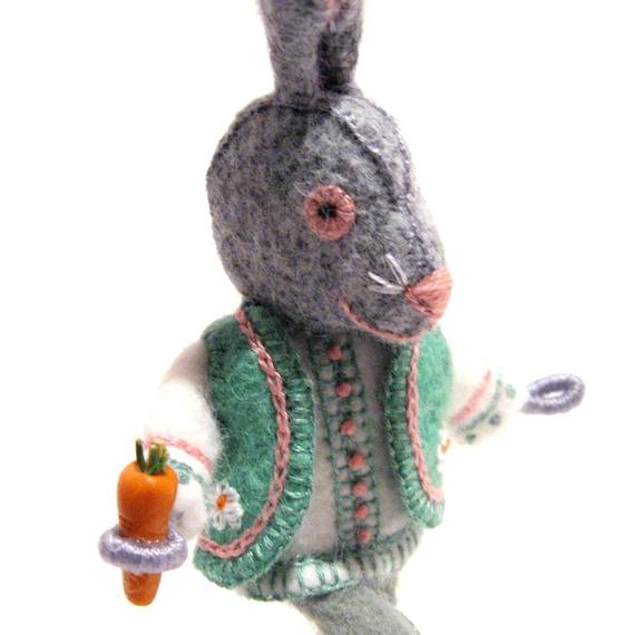 Mr. Rabbit Art Doll
