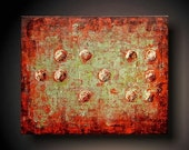 PAINTING JMJSTUDIO ORIGINAL  TEXTURED PAINTING BRAILLE  JOY  16 INCHES X 20 INCHES