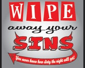 Bachelorette party Wipes - cleansings towelettes