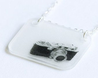 SALE - Leica Camera Necklace
