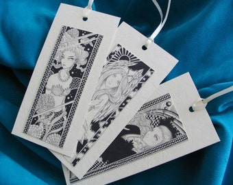 BOOKMARKS - Set of 3 - Visions 1