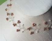 RESERVED for jenjenking - Cherry Blossom - Necklace - Champagne