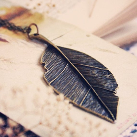 The Traveling Leaf Necklace
