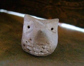 Barn Owl Bead