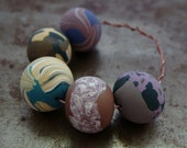 Sale - Spring Mix Round Beads