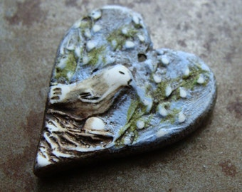 A Mother's Love Heart Pendant