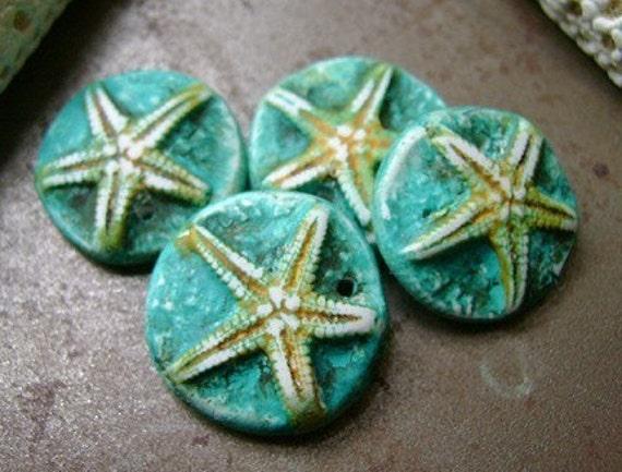 Tiny Starfish Charms