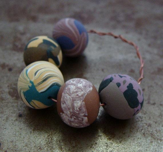 Sale - Spring Mix Round Beads