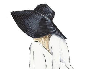 Miriam - Illustration Print - by Brooke Hagel