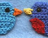Pattern - Little Bird - Crochet Appliqué