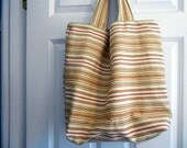Totebag - beach stripes - louisiana1966