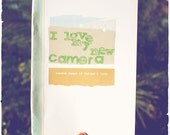 little zine \/\/ I love my new camera