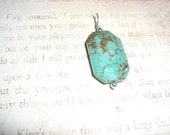 Howlite and Sterling Silver Pendant