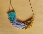 Paint Swatch Necklace
