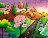The road less travelled - Limited Edition Print