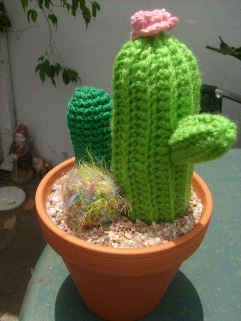 Cactus Garden Crochet Pattern