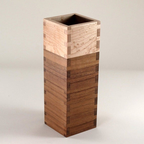 Desktop Organizer Walnut Maple