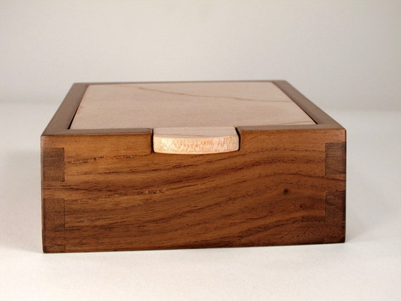 Keepsake Box Walnut Maple