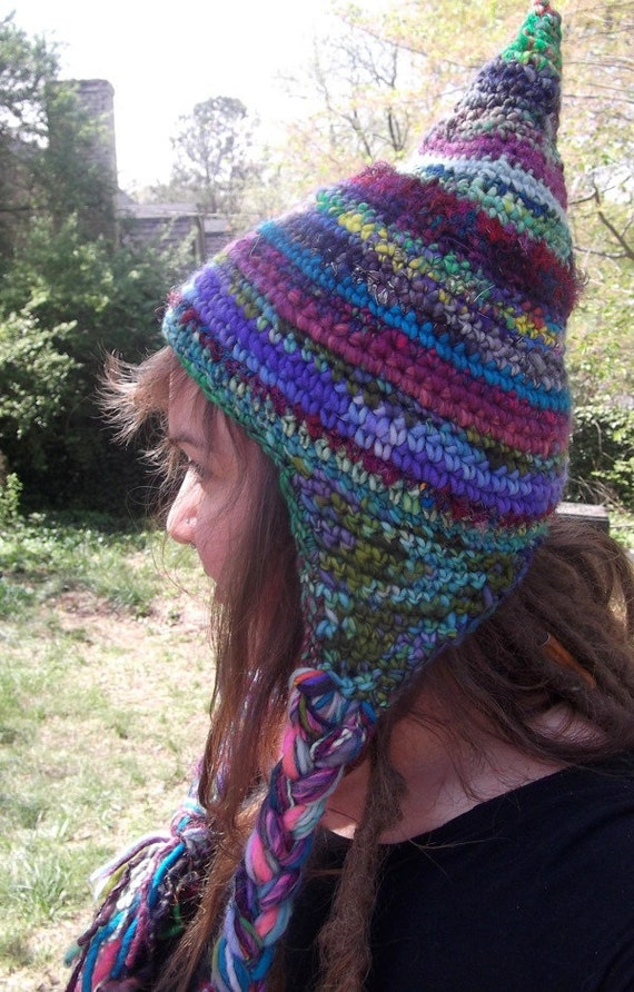 SaLE Whimsy Gnome Slouchy Hat ready to ship