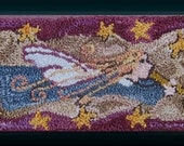 Primitive Punch Needle Pattern ANGEL SONG