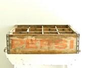 Vintage Pepsi-Cola Crate