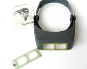 Donegan OptiVisor Optical Glass Binocular Magnifier