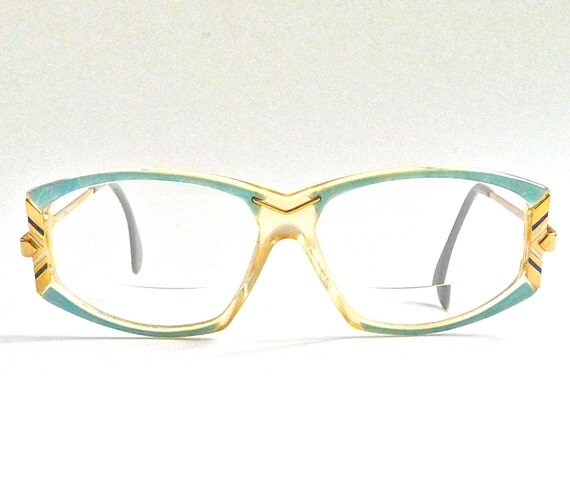 reserved for elmira vintage cazal eye glasses by marybethhale