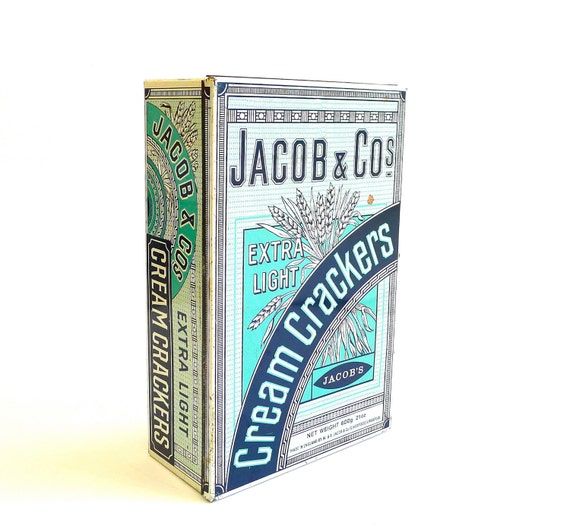 Jacob & Co Cream Crackers Tin Box