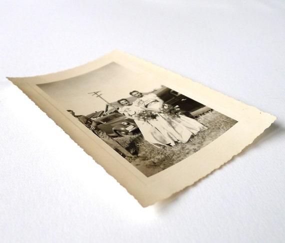 Vintage 1930s Bridesmaids Photograph