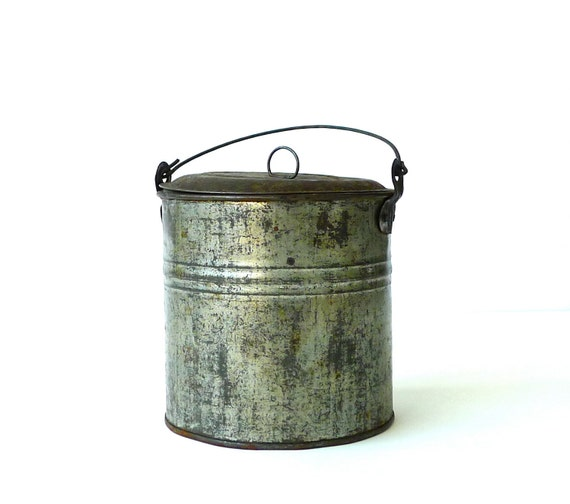 Antique Berry Bucket Lunch Pail