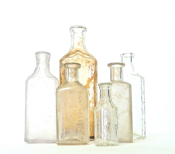 Antique Apothecary Bottles Instant Collection